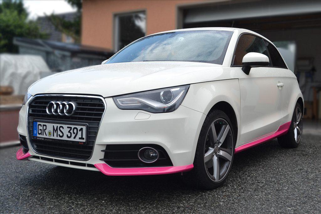 Audi A1 Teilfolierung