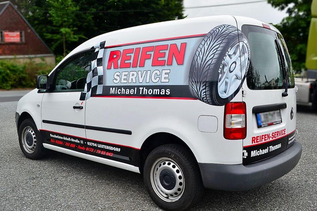 VW Caddy - Reifen Service