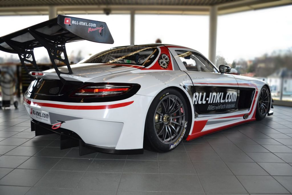 Mercedes SLS AMG - Münnich Motorsport